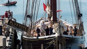 Bluenose step aboard