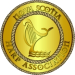Nova Scotia Harp Association Logo