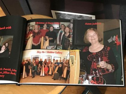Nova Scotia Harp Ring Memory Book pic